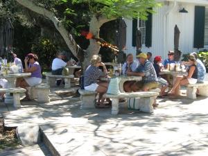 Captiva cruises-outside restaurant