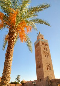 Minaret in Marrakesh